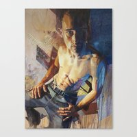 inner demons Canvas Prints featuring Demons by Drew Young