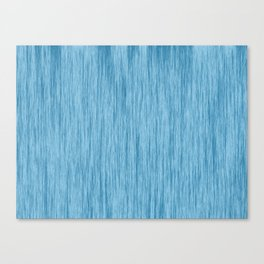 Crinkle in Blue Canvas Print