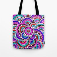 journey Tote Bags featuring Journey by PeriwinklePeacoat