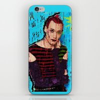 danny haas iPhone & iPod Skins featuring Danny Hennesy by brett66