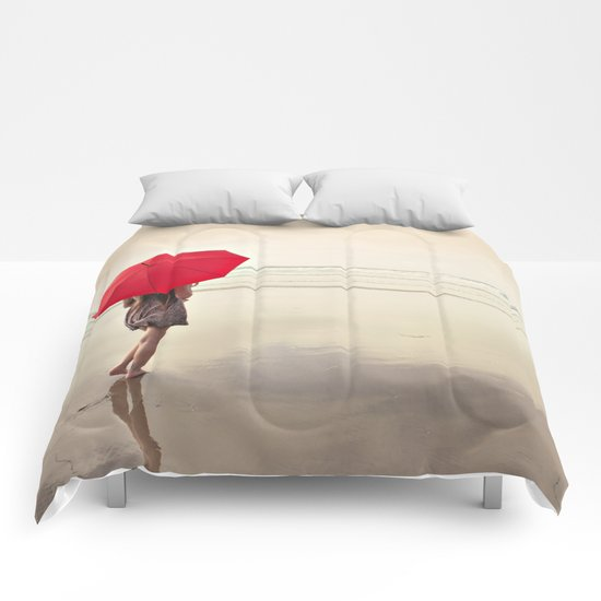 The Red Umbrella Comforters