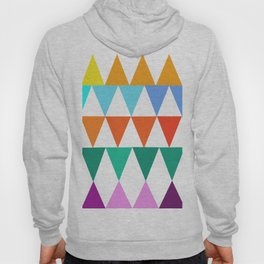 Triangles of Color Hoody
