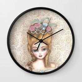 Marie Antoinette Wall Clock