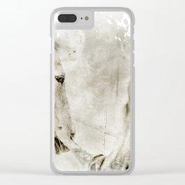 FRIEND Clear iPhone Case