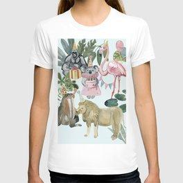 animals party (birthday) T-shirt