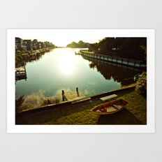 Possibilities for an Evening Sail Art Print