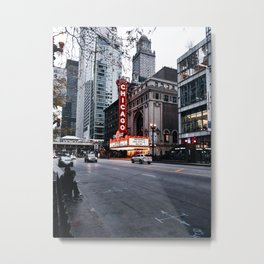 Chicago Theater Metal Print
