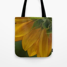 Sunflower section Tote Bag