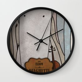 Piaghetti from Ixiom (Violin) Wall Clock