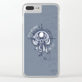 Not all who wander are Lost - Octopus Clear iPhone Case