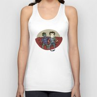 resident evil Tank Tops featuring playing resident evil by Toubab
