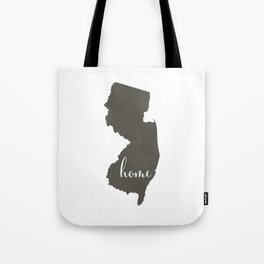 New Jersey is Home Tote Bag