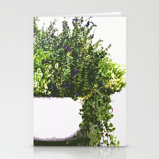 Garden plant Stationery Cards