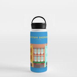 Chinatown Shophouses, Singapore [Building Singapore] Water Bottle