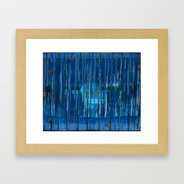 Trickling Engima Framed Art Print