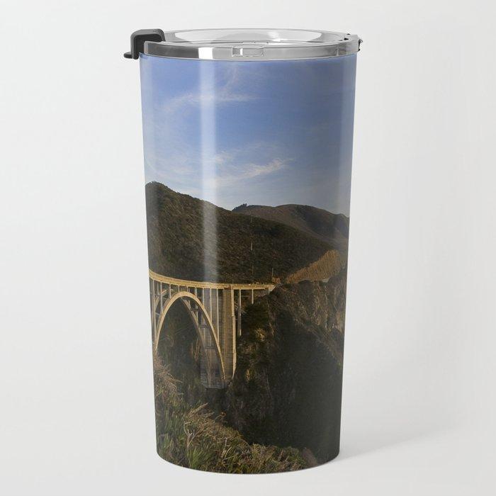 Bixby Bridge at Big Sur Travel Mug