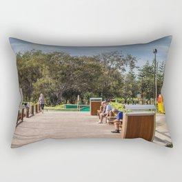 Broadbeach Boardwalk Rectangular Pillow