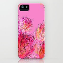 Petal Morpho Floral iPhone Case
