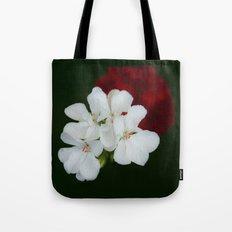 Geranium as art Tote Bag