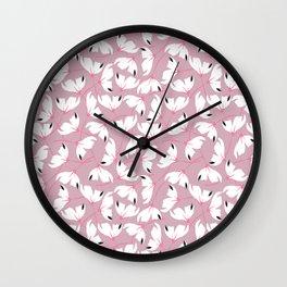 Flores de cerezo Wall Clock