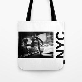 taxi N.Y Tote Bag