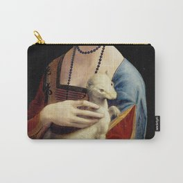 The Lady with an Ermine - Leonardo da Vinci Carry-All Pouch
