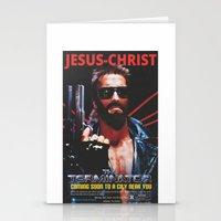 terminator Stationery Cards featuring God's Terminator by Jessie J. De La Portillo