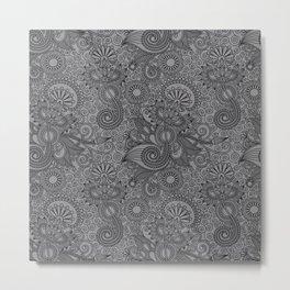 FLOR-ISH Metal Print