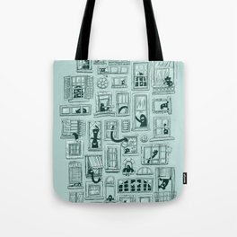 I've Seen Strange Things in City Windows Tote Bag