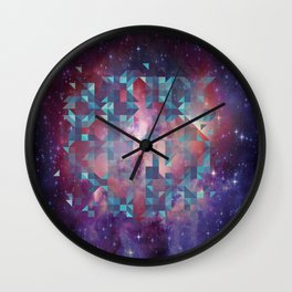 Illusive space Wall Clock