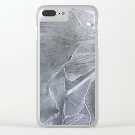 spring puddle frost Clear iPhone Case