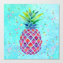 Pineapple Crush Canvas Print