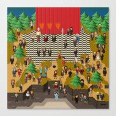 Super Twin Peaks Canvas Print