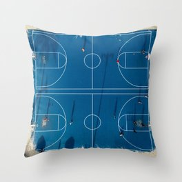 Basket 2 Throw Pillow