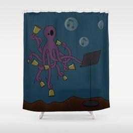 Octobells Shower Curtain