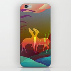 Space of Non-Duality iPhone & iPod Skin