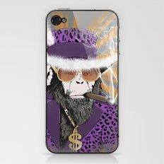 Pimp-Panzee iPhone & iPod Skin