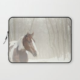 Sonny in the snow Laptop Sleeve