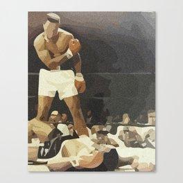 The Champ Canvas Print