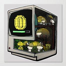 Bitcoin Bunnies Canvas Print