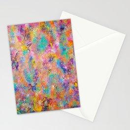 Abstract Art, Butterflies, Modern Art Stationery Cards