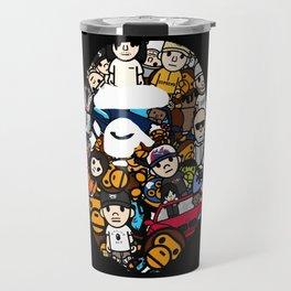 Hypebeast ape Graffiti  Travel Mug