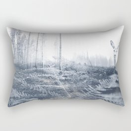 After the fire II Rectangular Pillow