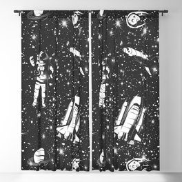Travel To Infinity Blackout Curtain