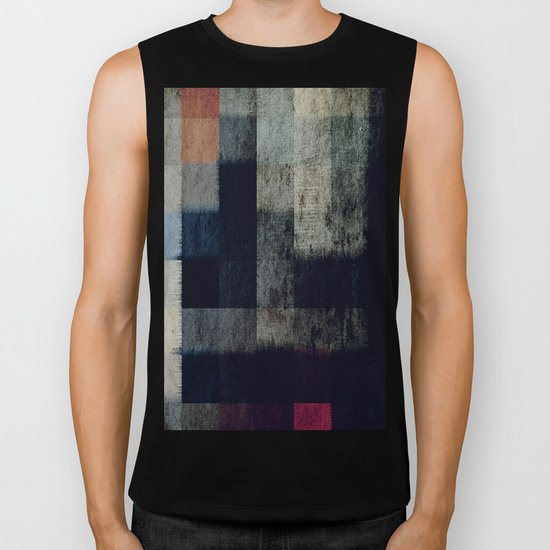 lights in the dark Biker Tank