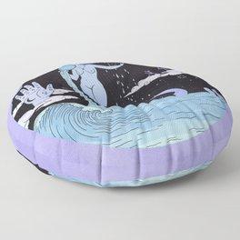 THE WATER MAGICIAN Floor Pillow