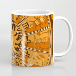 Harley and J Zodiac Orange Coffee Mug