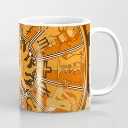 Harley and J Zodiac Orange Coffee Mug