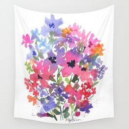 Lovely Little Fleurs Wall Tapestry