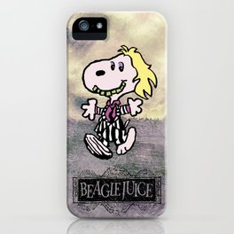 Beaglejuice iPhone Case